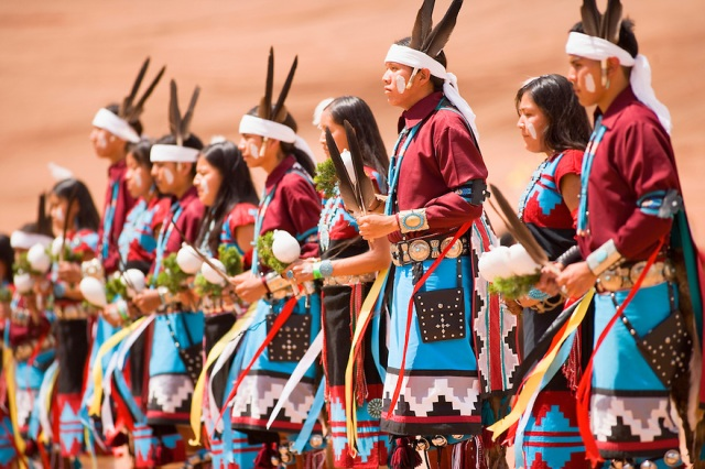 The Navajo world and traditions
