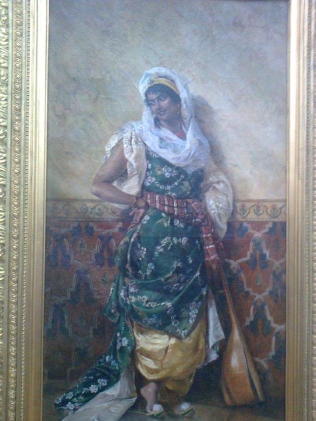 Odalisca by Theodor Aman